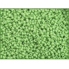 Seedbead Opaque Light Green 10/0